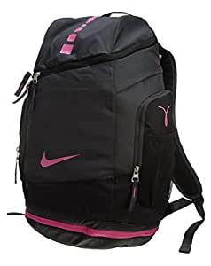 Nike Hoops Elite Max Air Team Backpack Anthracite/Black/Pinkfire Size One Size