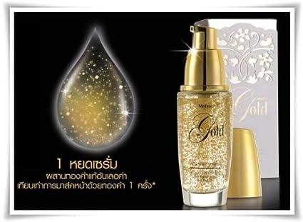New Mistine Gold Prestige Serum - Improve your skin tone resulting