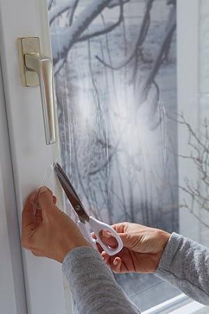 Hervorragend tesamoll Thermo Cover Fenster-Isolierfolie - Transparente WM94