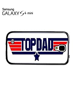 Top Dad Birthday Cool Mobile Cell Phone Case Samsung Galaxy S4 Mini Black