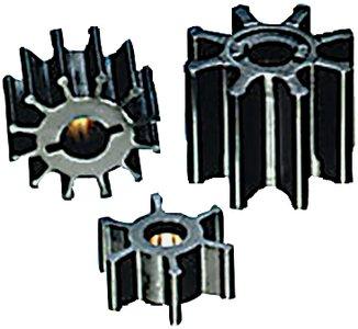 Blade Neoprene Impeller (Impeller Kit F/Sherwood 17000 ((See Chart)Type: Neoprene Figure: Gg Drive: 3 Blades: 12 Diameter\: 3-3/4 Depth\