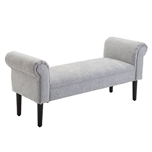 Bedroom Fabric Bench - 8