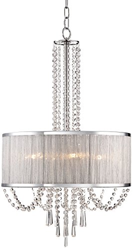 Ellisia 19 3/4″ Wide Crystal Chandelier