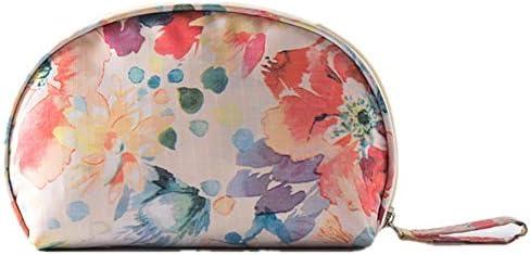 化粧品袋 パターンZIP形式気質ストレージポーチ女性の女の子と大小メイクアップバッグ化粧ケーストイレタリーバッグバニティケース 旅行化粧収納ボックス