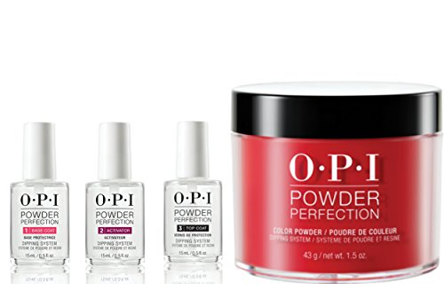 OPI Powder Perfection Dipping Powder Set - nail dipping powder system reviews