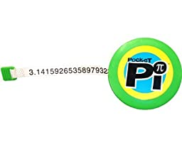 Pocket Pi Geeky fun & learning retractable measuring tape (see NumbersAlive! Amazon shop for sets of 5)