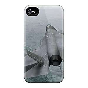 Cute Tpu JonathCo Lockheed Martin F 35 Fighter Plane Case Cover For Iphone 4/4s