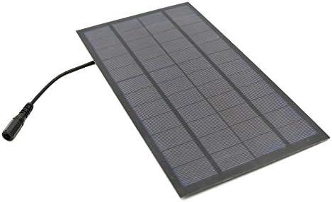Z.L.FFLZ Mini Solar-Panel Wasserdicht Kleine Solarmodule Stecker Polykristalline DIY Battery Power Charger Module Solarzellen 7W 12V