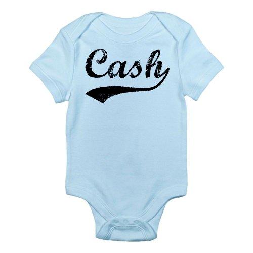 CafePress - Vintage: Cash Infant Bodysuit - Cute Infant Bodysuit Baby - Cash Onesie