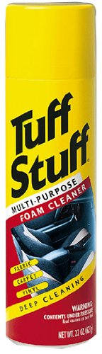 Tuff Stuff 350 0 1 Pack Multi-Purpose Foam Cleaner (22 Ounces) (Best Fabric Cleaner For Car Seats)