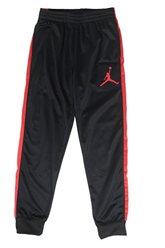 Jordan Big Boys Sport Skinny Jogger Pants (Small (8-10YRS), Black/Red)