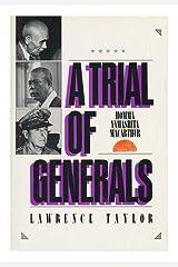 A Trial of Generals: Homma, Yamashita, Macarthur Hardcover