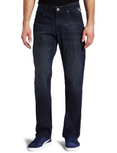(Volcom Men's Enowen Straight Leg Jean, El Vintaj, 31)