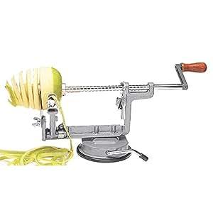 amazoncom apple peelercorer slicer cast iron apple