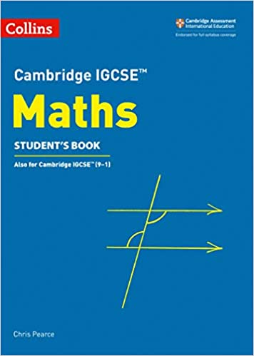 Cambridge IGCSE Maths Student Book Cambridge International