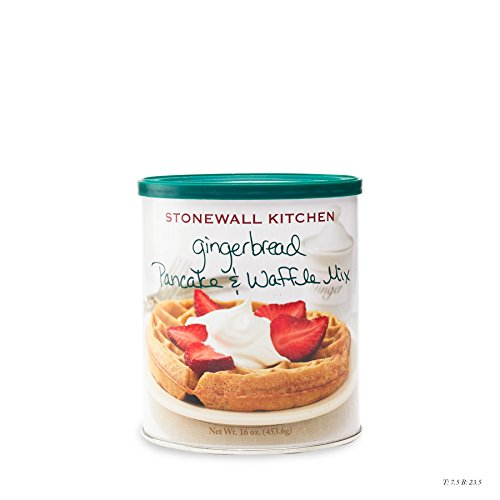 Stonewall Kitchen Gingerbread Pancake and Waffle Mix, 16 Ounce ()
