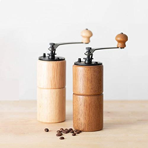 GGJJZHZZ Kaffee Hand-Free Getreidefreie Kaffeemühle, Abnehmbare Kaffeebohne Manuelle Mühle, Für Office Camping Home Genuss