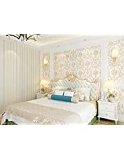 3D wallpaper bedroom living room TV background wall round net fine high-grade wallpaper -XSQ