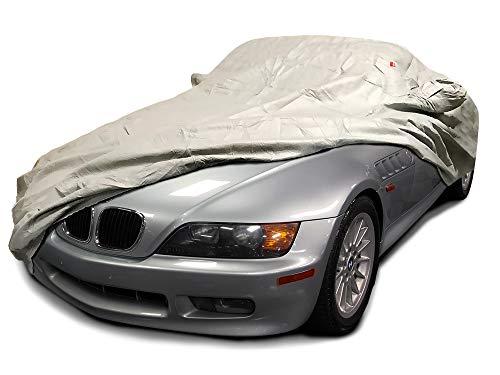 CarsCover Custom Fit 1996 1997 1998 1999 2000 2001 2002 BMW Z3 Roadster Car Cover Heavy Duty Weatherproof Ultrashield -