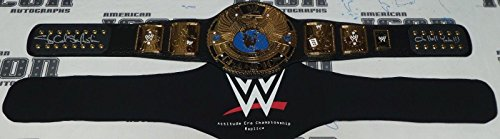 Stone Signed - Stone Cold Steve Austin Signed WWE Attitude Era Replica Title Belt BAS COA Hell - Beckett Authentication