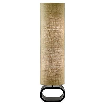 Adesso 1520-02 Harmony Floor Lamp, White/Black