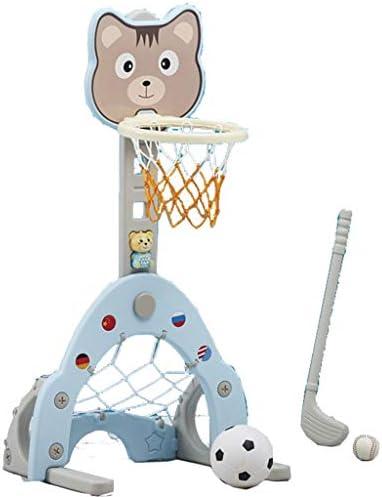 バスケットボールバスケットボールボックスポータブル家族子供の射撃スタンドウォールマウント屋内フレームホーム10歳の子供のおもちゃラック (サイズ : 125cm)