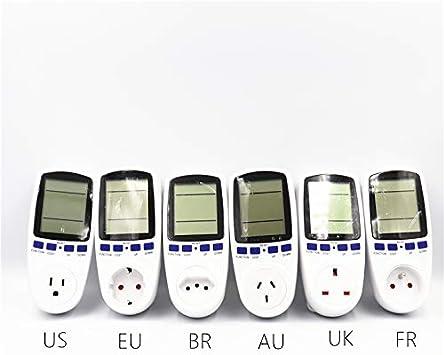 EU US UK Meter electricity monitoring electricity voltage power metering socket type mete watt meter power analyzer kwh AU