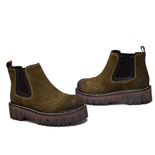 Sur Chunky Tirer Short Femmes Chaussures Bottes Bottines azqOPO