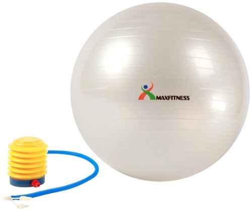 Max Fitness Exercise Ball with Foot Pump