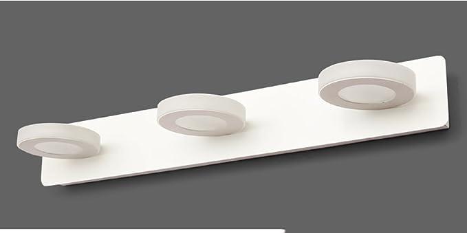 Guo Moderne Minimalistische Led Spiegel Vorderen Leuchten Badezimmerspiegel  Licht Badezimmer Wandlampe Wasserdicht Nebelscheinwerfer Make Up