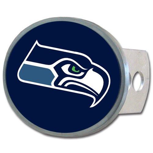 - Siskiyou NFL Seattle Seahawks Oval Hitch Cover, Class II & III