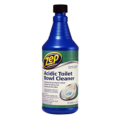 Zep Commercial Acidic Toilet Bowl Cleaner, 32 oz Bottle