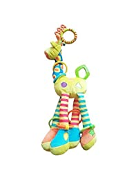 CoLPo Infant Baby Development Soft Giraffe Animal Handbells Rattles Handle Toys BOBEBE Online Baby Store From New York to Miami and Los Angeles