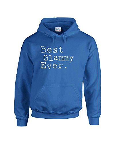 Best Glammy Ever Grandma Cool Cute Grandmother Gift Idea - Adult Hoodie S Royal