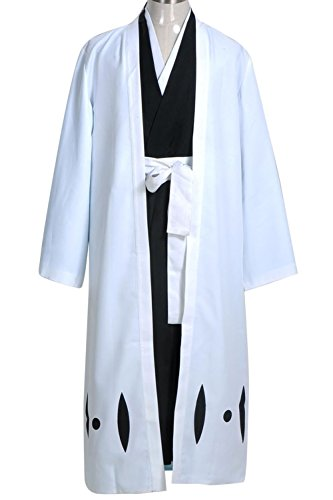 Ulquiorra Cifer Costume (Cosplaybar Cosplay Costume Bleach 5th Division Captain Aizen Sousuke Male M)