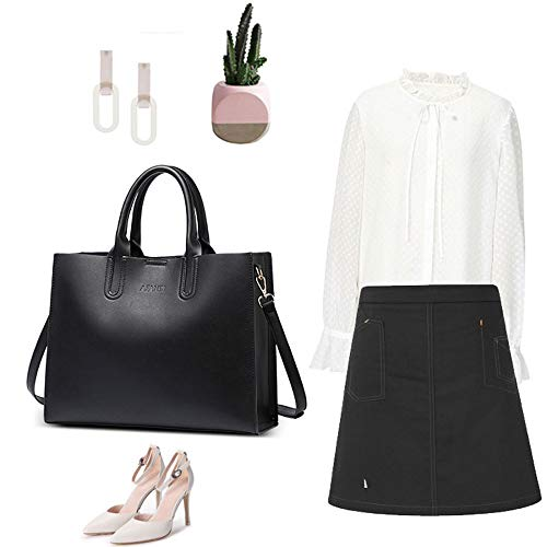 Main Sacs Les Sac Casual rétro à Femmes WWAVE épaule Messenger Black Grand Fashion Bag Main à Sac du Femme Sac f4x5YRw