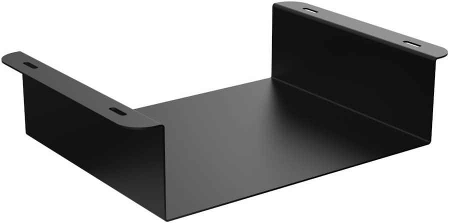 Oeveo Under Mount 139-9.75W x 2.8H x 8D | Under Desk Computer Mount for HP Thin Client and Dell USFF Computers | UCM-139