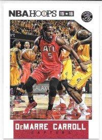 DeMarre Carroll 2015-16 NBA Hoops Toronto Raptors Card #79