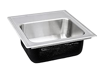 Incroyable Just SL1515A3 316 18 Gauge Drop In One Bowl Stainless Steel Sink With  Standard Depth