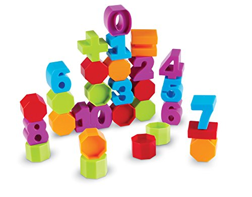 Learning Resources Number and Counting Blocks, 33 Pieces, Ages 2+