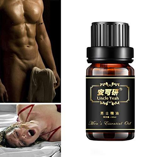 Penis-Massage-Öl-männliche Vergrößerung Größere längere Verzögerung Sexualprodukte des ätherischen Öls für Männer