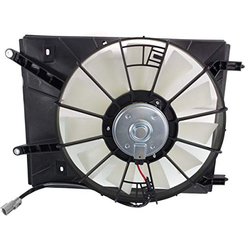 (New Left Driver Side Radiator Fan Assembly For 1998-2003 Toyota Sienna, Mark T1 TO3115121 163610A090)