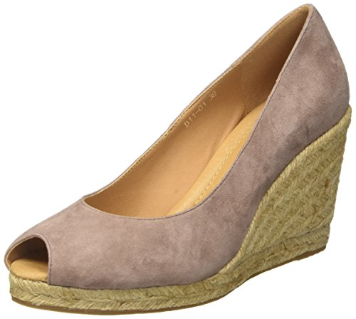 CINTI D11-01 - Tacones Mujer Beige (Taupe)