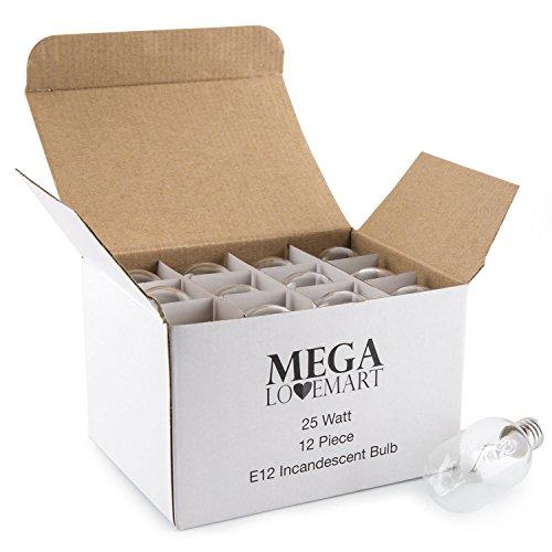 MEGALOVEMART Socket Lasting Incandescent Candelebra