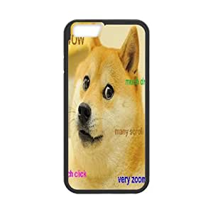 Doge Mousepad Rectangle Shape TPU Phone case cover for iphone6 4.7 inch black