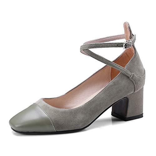 Mujer Zapatos Para 1to9 Mms06464 Sólidos Verde Viaje De Uretano w7AOfqP