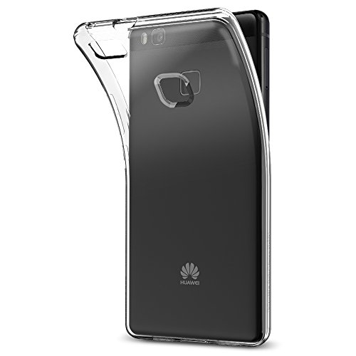 Spigen Liquid Crystal Huawei P9 Lite Case with Slim Protection and Premium Clarity for Huawei P9 Lite – Crystal Clear