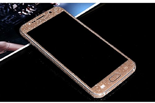 Shensee Fashion New Luxury Bling Glitter Hard Back Film Case Cover for Samsung Galaxy S6 G9200 (champagne)