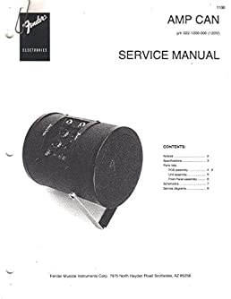 fender amp can portable amplifier service manual repair guide rh amazon com fender frontman 212r repair manual fender rhodes repair manual