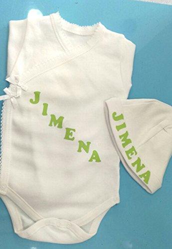 Tienda Cucú set regalo body y gorrito recién nacido: Amazon.es: Bebé